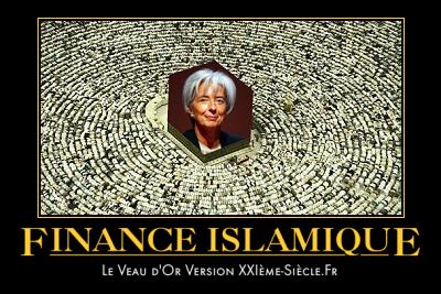 carte postale contre la finance islamique